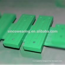 Blow bar Mn13Cr2 Mn18Cr2 Mn22Cr2High Chrome Cr26 Cr20Mo Cr15Mo Martensitic Manganese PE series HP Series