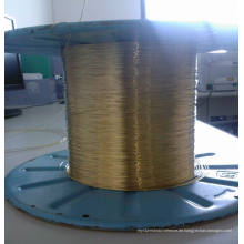 0,25mm Gummischlauch Verstärkung Messing beschichtet Stahldraht