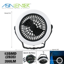 Peak Performance 2-in-1 LED Camping Deckenventilator & Lampe