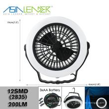 Портативный потолочный вентилятор и свет для кемпинга New
