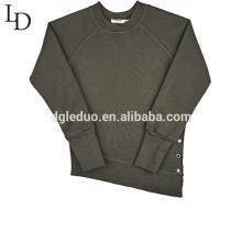 Fábrica chinesa venda quente moda casual camisola de manga comprida