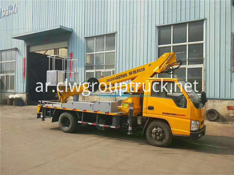 20 M Straight Arm Telescopic Aerial Work Vehicle 1
