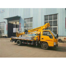 JMC 20m straight arm telescopic aerial work truck