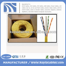 1000 Ft CCA CAT6 Solid UTP Ethernet bulk Network Cable Wire