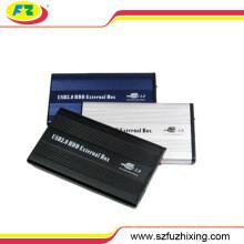 USB 2.0 HDD caja externa, caja de aluminio del recinto