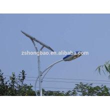 Солнечная электрическая система 30w до 100w вело уличный свет 3m до 10m высокий полюс свинцово-кислотный / гель глубокий цикл аккумулятор 3 года гарантии