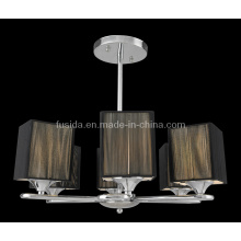 Cloth Shade European Pendant Lamp/Chandelier (P-8116/6)