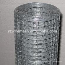 Electro-galvanizado de malha de arame soldado / fábrica de wiremesh soldado