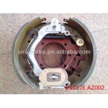 Conjunto de freno de remolque para uso industrial eléctrico