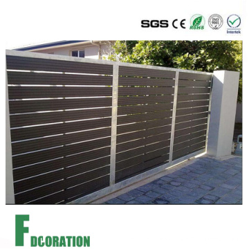 Resistente a la intemperie jardín WPC valla Gate & Patition