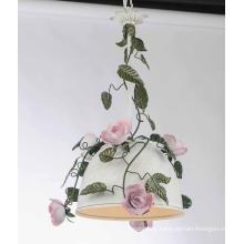 Flower Decoration Modern Iron Pendant Light (SD1168/1)