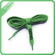 Custom Polyester Colorful Shoelace with Printed Logo