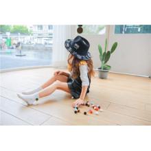 Brincar com bolas ---- Little Girl Lovely Cosy Ball algodão meias Moda e Beatiful Meias