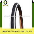 China high quality collor rubber road bicycle tire 26*1.75