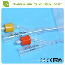 Катетер силиконового фолиевого качества 16-24FR