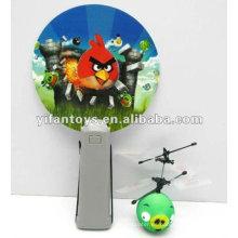 ¡Nueva llegada! Mini volante, bolas de dibujos animados volando, rc aves con luz LED