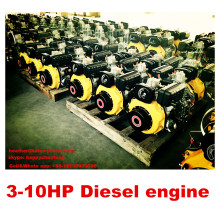 3-10HP Air-Cooled Single Cylinder Diesel Engine
