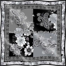 Brand Fashion Luxury Silk Scarf Women