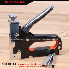 Heavy duty hand staple guns manual metal nail gun stapler
