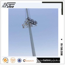 40M Galvanized Auto-Lifting High Mast Stadium Poles