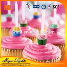 Velas de pastel de cumpleaños de alta calidad de diseño único propio