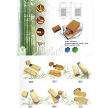 Disco de destello del USB del bambú (02D82001)