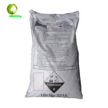 Soda cáustica translúcida blanca 99% de escamas Fabricación de detergente