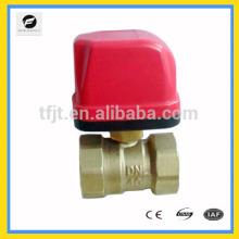 CWX-50K Válvula de bola eléctrica AC24V AC220V para el sistema contect de calentamiento de agua, HAVC