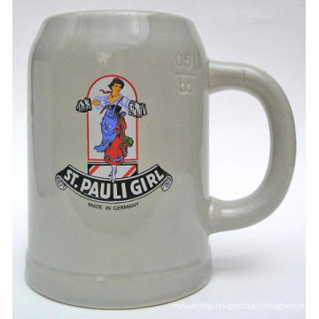 500ml Ceramic Beer, Beer Stein for Photo Printing