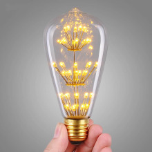 LED Bulb St64 Star Lamp