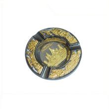 Cinzeiro de cigarro de metal de característica regional da Europa