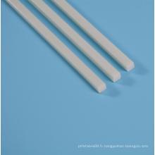 Tiges en fibre de verre haute résistance carrées de 6 mm