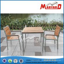 Foshan тикового дерева обеденный стол набор