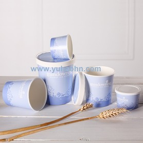 New Design Frozen Yogurt Ice Cream Cup