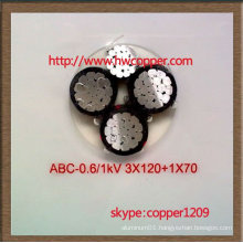 Professional XLPE insulated ABC cable