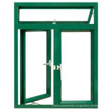 New Design Economy Powder Coating Aluminum Casement Window