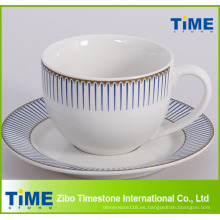 Royal Design Tea Cup and Saucer