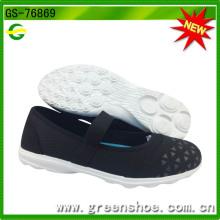 Mais recente novo design sapatos mulheres casuais (gs-76869)