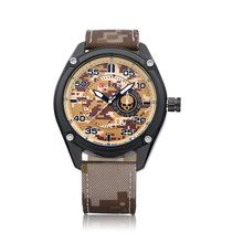 Well-Quality Army CURREN Casual Quartz Watches