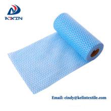 Lavagem de pano de limpeza da cozinha a toalha não tecida descartável do óleo dos pratos antiaderente