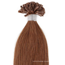 Top Quality 10A Grade Double Drawn 100% Remy Hair Keratin Stick I Tip Hair/Nail U Tip Hair/Flat Tip Hair