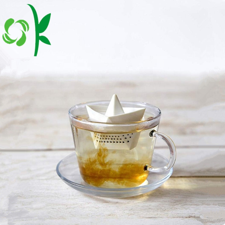 Paper Boat Shaped Tea Filter