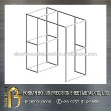 Customized simple structure steel frame, sheet metal frame fabrication service support