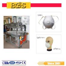 Máscara protectora médica descartável automática ultra-sônica de 4200w que faz a máquina