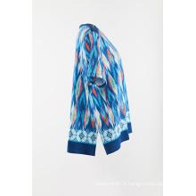 Pull en tricot imprimé pour femme