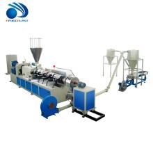 Linha de produção quente da peletização do corte do PVC