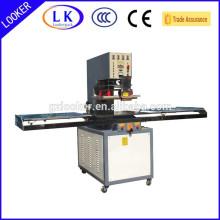 Solda de alta freqüência e máquina de corte para estampagem de couro