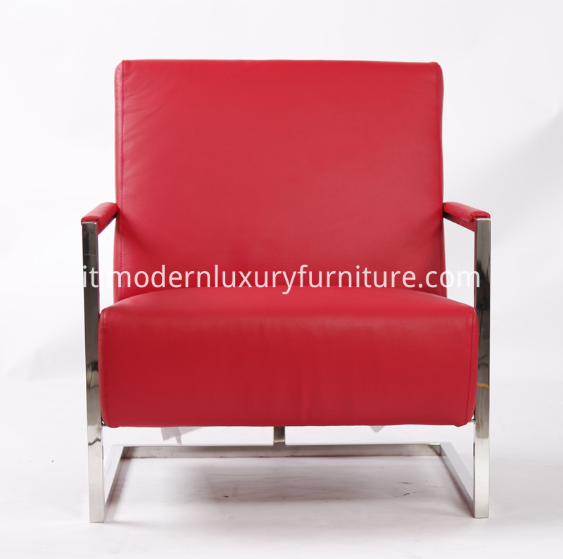 Modern Leather Armchair