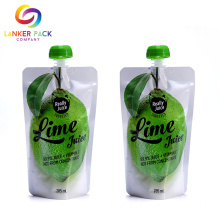 FDAApproved Laminated Flat Bottom Spout Pouch Untuk Juice