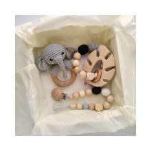 Collar de mordedor de elefante hecho a mano creativo